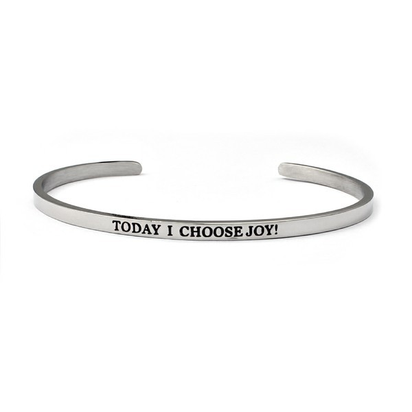 "Armreif ""TODAY I CHOOSE JOY!"""